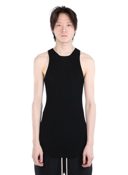 RICK OWENS RICK OWENS MEN RIBBED TANK TOP