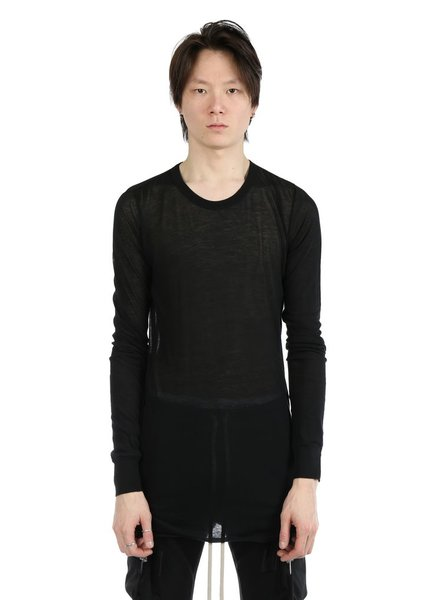 RICK OWENS RICK OWENS MEN BASIC LS T-SHIRT