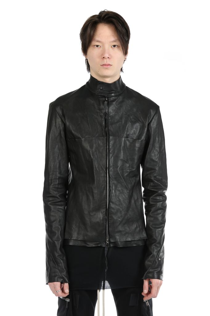 MA+ MA+ MEN RELAXED FIT BIKER JACKET