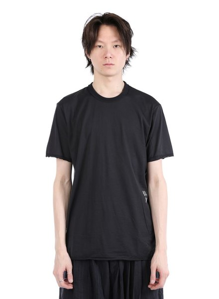 ZIGGY CHEN ZIGGY CHEN MEN STITCHED T-SHIRT