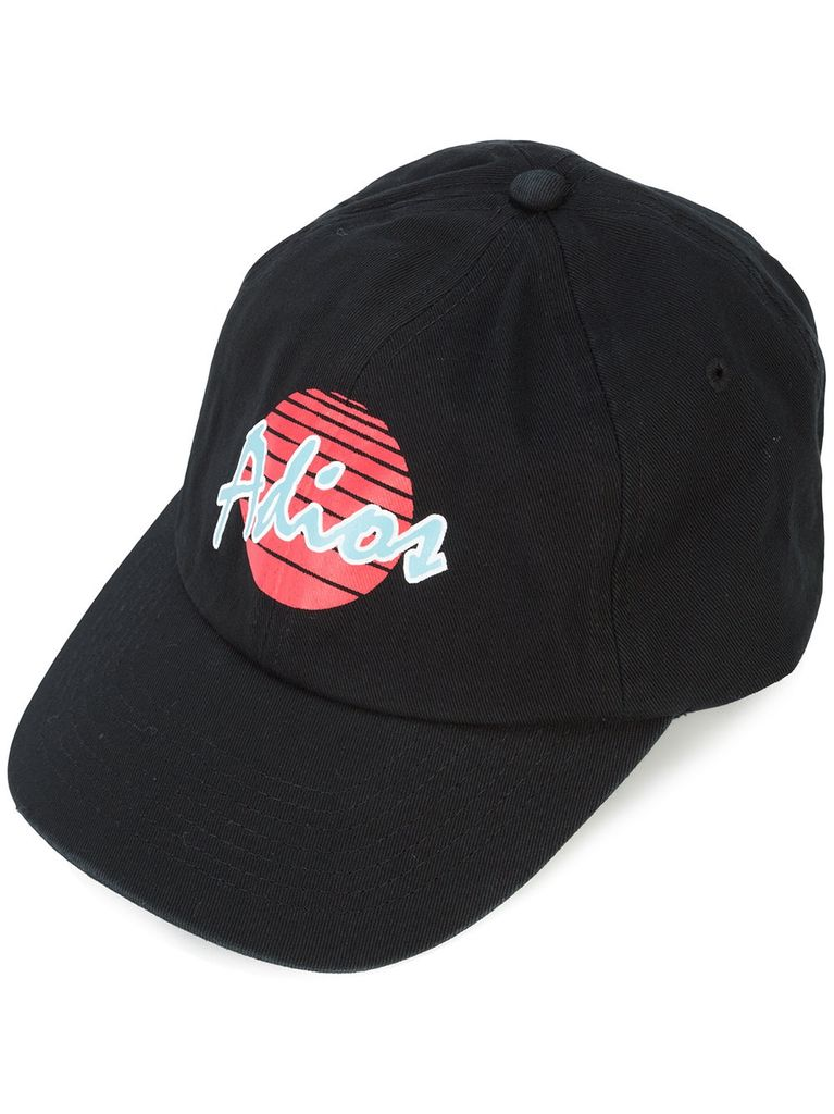 PALM ANGELS PALM ANGELS MEN ADIOS TAPE CAP
