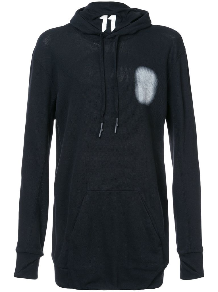 11 BY BORIS BIDJAN SABERI 11 BY BORIS BIDJAN SABERI MEN FROSTED HOODY