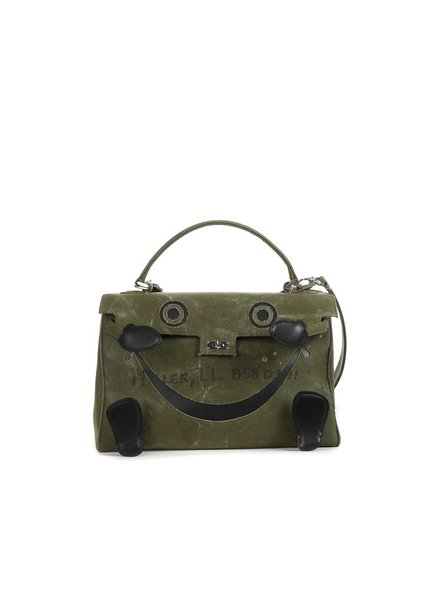 READYMADE READYMADE VINTAGE ARMY TENT DOLL BAG