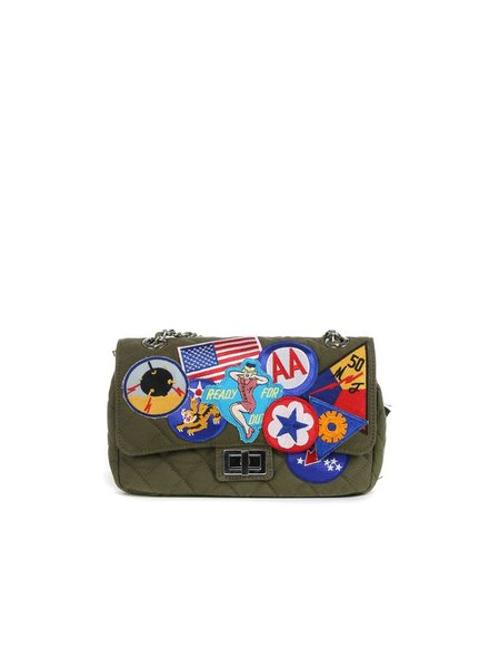 READYMADE READYMADE CHAINBAG WITH PATCHES