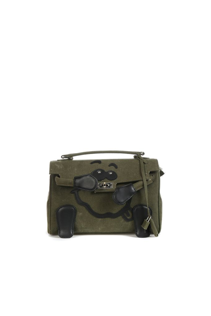 READYMADE READYMADE VINTAGE ARMY TENT MONSTER BAG SMALL