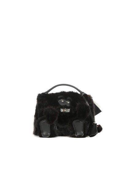 READYMADE READYMADE VINTAGE FUR COAT MINI MONSTER BAG