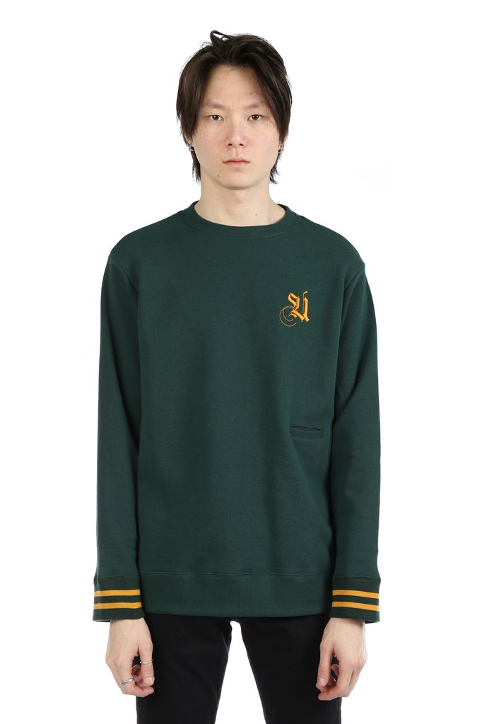 UNDERCOVER UNDERCOVER MEN EMBROIDERY LOGO PULLOVER