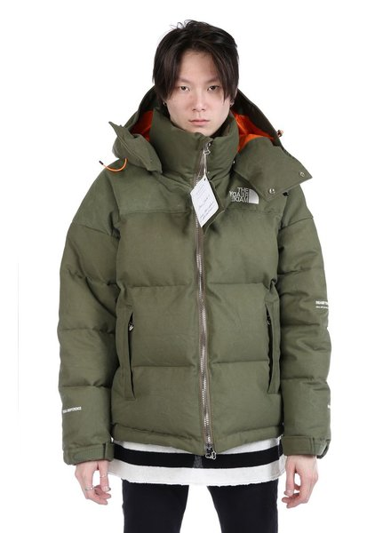 READYMADE READYMADE VINTAGE ARMY TENT DOWN JACKET