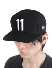 11 BY BORIS BIDJAN SABERI 11 BY BORIS BIDJAN SABERI WHITE LOGO NEW ERA CAP