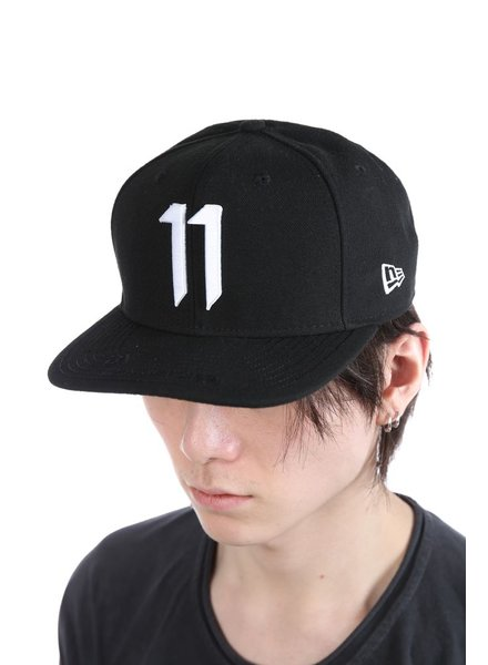 11 BY BORIS BIDJAN SABERI 11 BY BORIS BIDJAN SABERI WHITE LOGO NEW ERA CAP