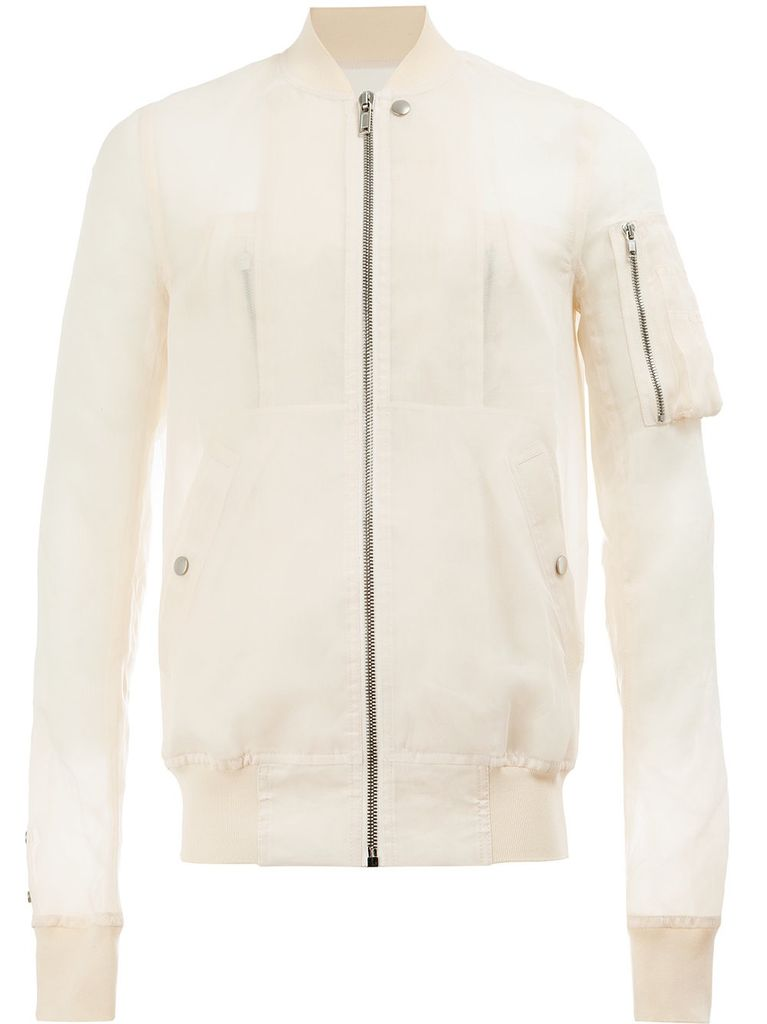 RICK OWENS RICK OWENS MEN FLIGHT BOMBER JACKET