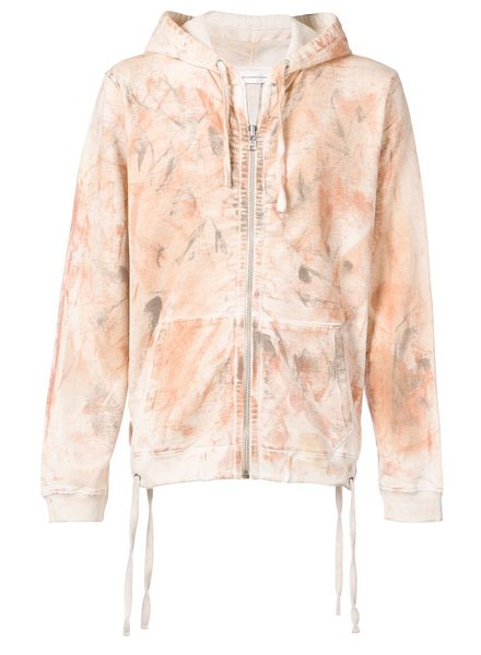 FAITH CONNEXION FAITH CONNEXION UNISEX BLEACH LACE HD HOODIE