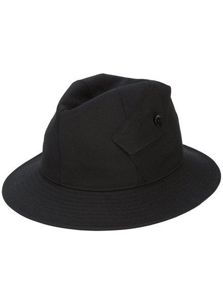 YOHJI YAMAMOTO YOHJI YAMAMOTO WOMEN POCKET DETAIL HAT