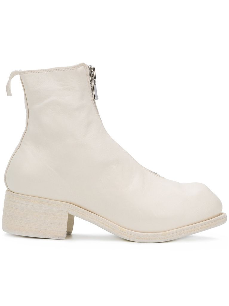GUIDI PL1 GUIDI WOMEN SOFT HORSE FRONT ZIP BOOT