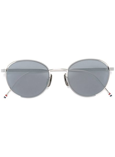 THOM BROWNE THOM BROWNE DITA EYEWEAR TB-106 GREY ENAMEL - SILVER WITH DARK GREY - SILVER MIRROR - AR