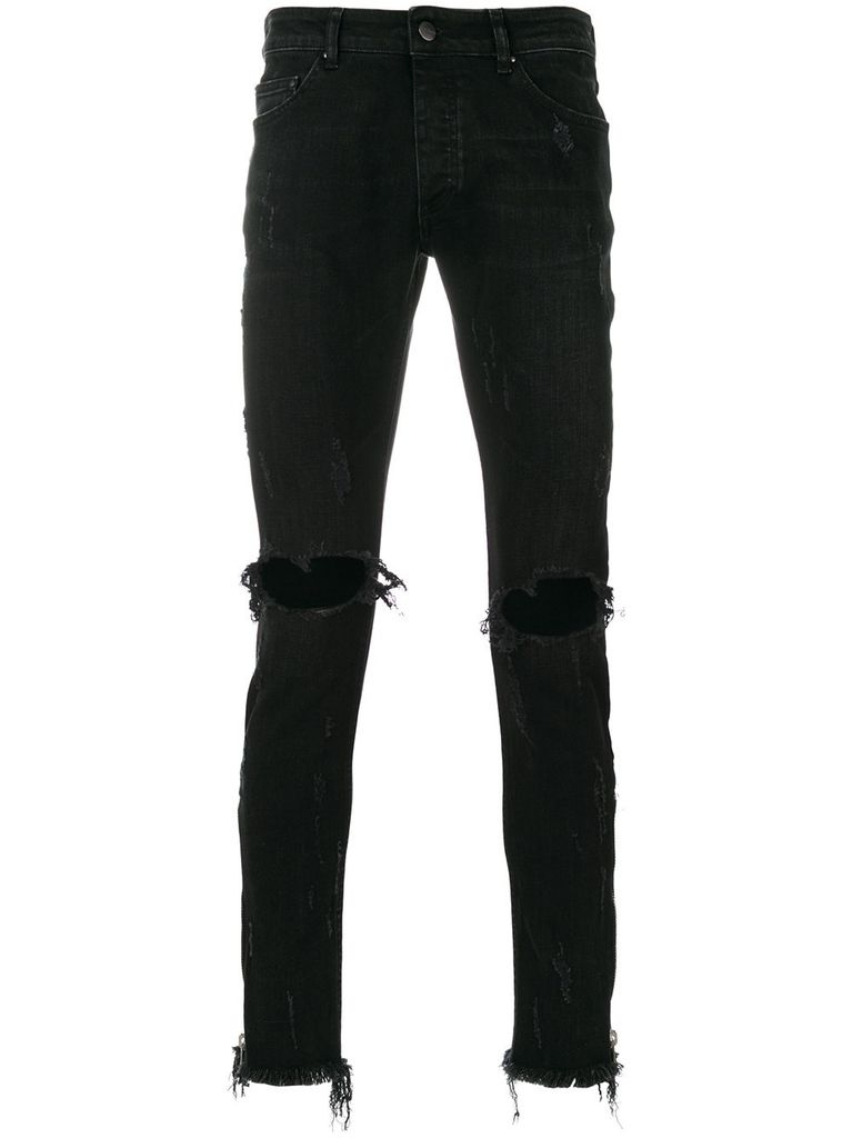 PALM ANGELS PALM ANGELS TRACK SKINNY JEANS