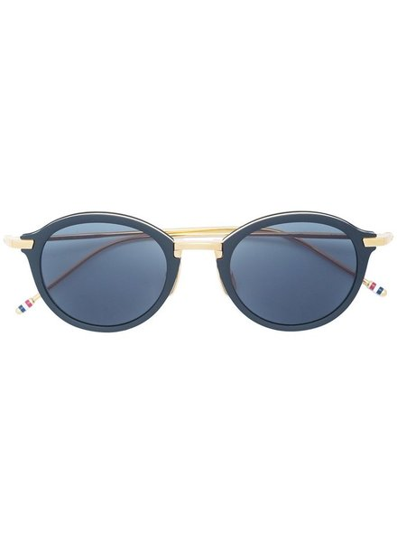 THOM BROWNE THOM BROWNE DITA EYEWEAR TB-110 BLACK IRON - YELLOW GOLD WITH DARK GREY - AR