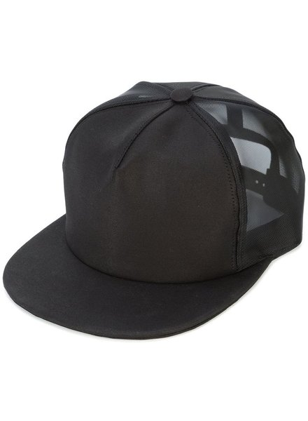 RICK OWENS DRKSHDW DRKSHDW MEN HAT WITH PATCHES