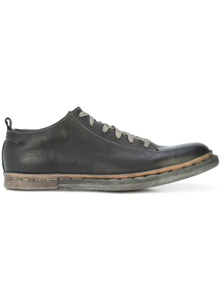 TAICHIMURAKAMI TAICHIMURAKAMI MEN BISON LEATHER UN-NORWEGIAN LOW CUT SNEAKER