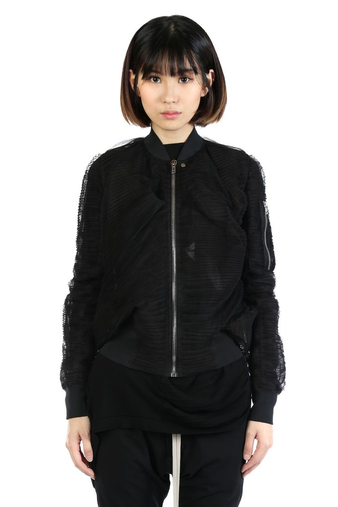 RICK OWENS RICK OWENS WOMEN SWOOP FLIGHT JACKET