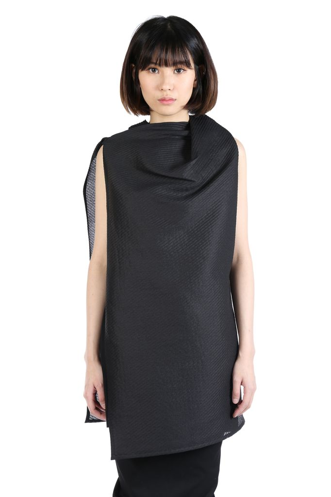 RICK OWENS RICK OWENS WOMEN TOGA TUNIC DRESS