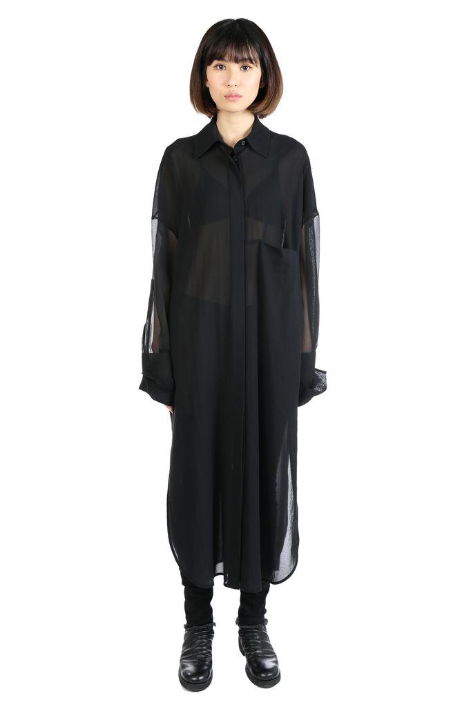 ANN DEMEULEMEESTER ANN DEMEULEMEESTER WOMEN ALEXIS SHIRT DRESS