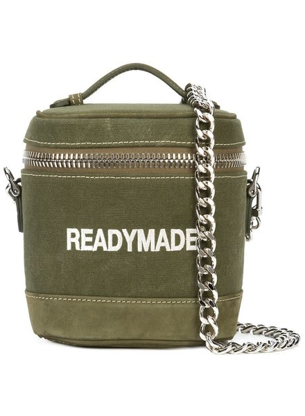 READYMADE READYMADE VINTAGE ARMY DUFFLE VANITY BAG