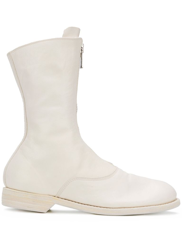 GUIDI 310 GUIDI WOMEN FRONT ZIP MILITARY BOOT