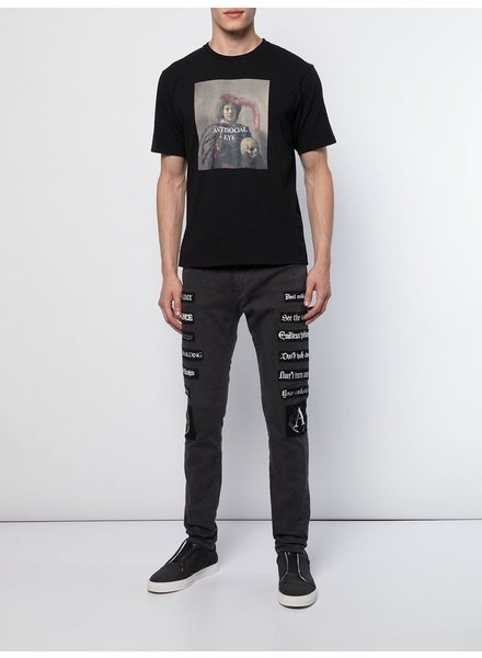 UNDERCOVER UNDERCOVER MEN BAND PATCHES DENIM