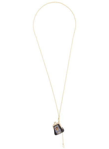 UNDERCOVER UNDERCOVER WOMEN PRINTED BAG NECKLACE