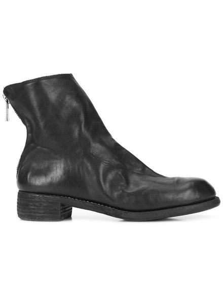 GUIDI GUIDI WOMEN SOFT HORSE LEATHER POINTY TOE BACK ZIP BOOT