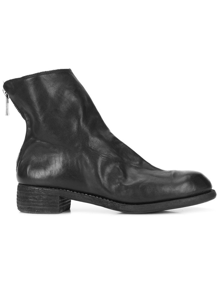 GUIDI GUIDI WOMEN M86B SOFT HORSE LEATHER POINTY TOE BACK ZIP BOOT