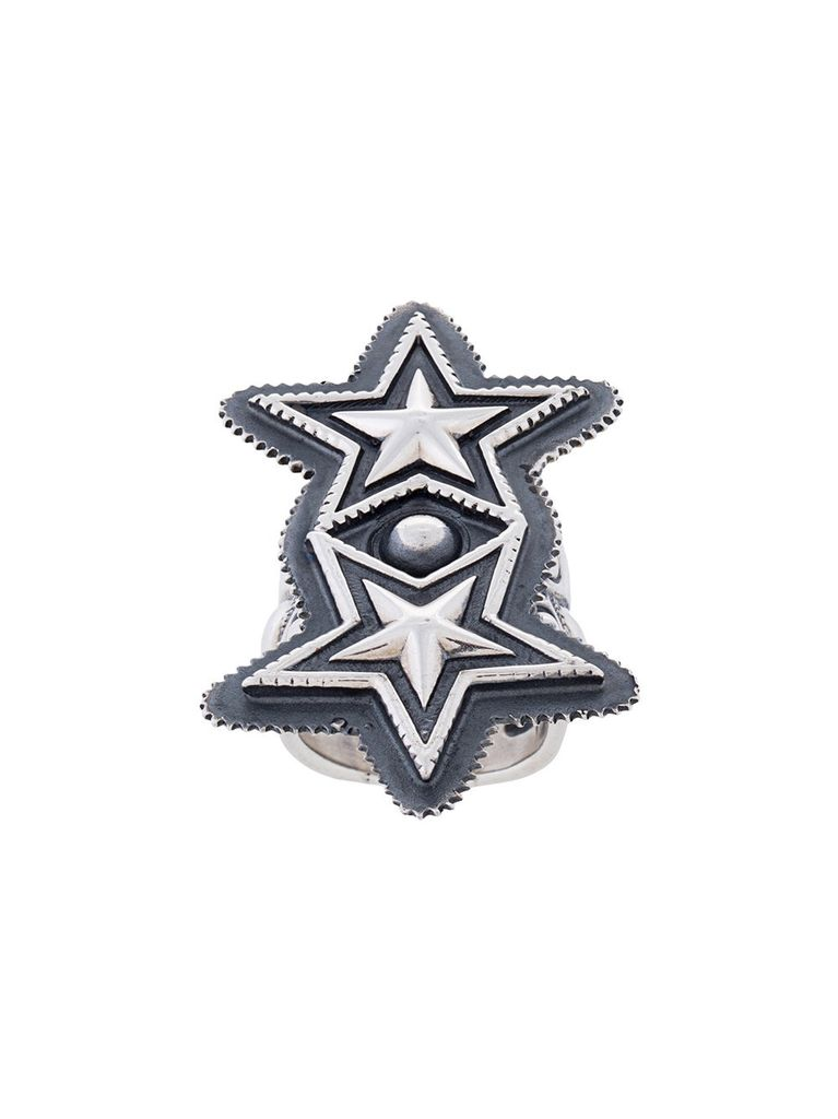 CODY SANDERSON CODY SANDERSON DOUBLE SHERIFF STAR RING