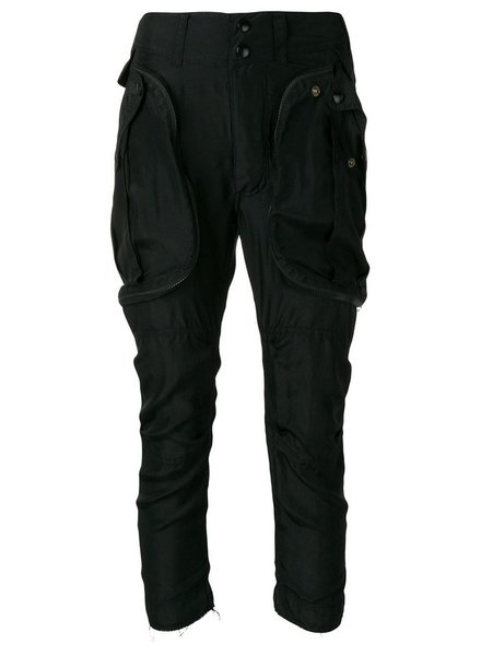 FAITH CONNEXION FAITH CONNEXION WOMEN SILK CARGO PANT