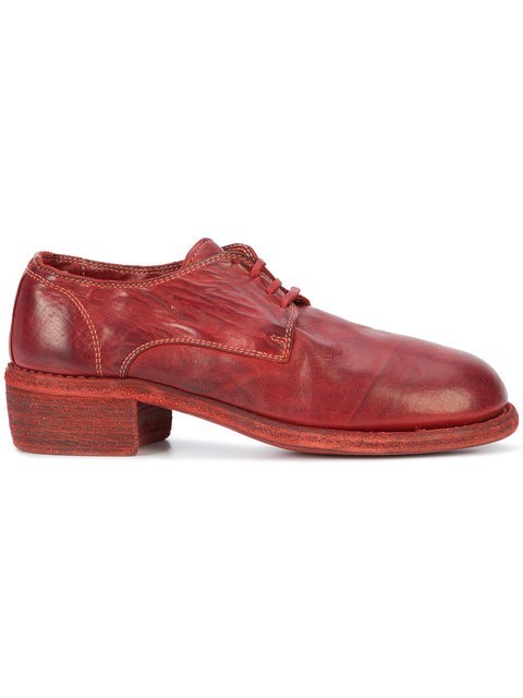 derby shoes - Red Guidi loYGFr7SH