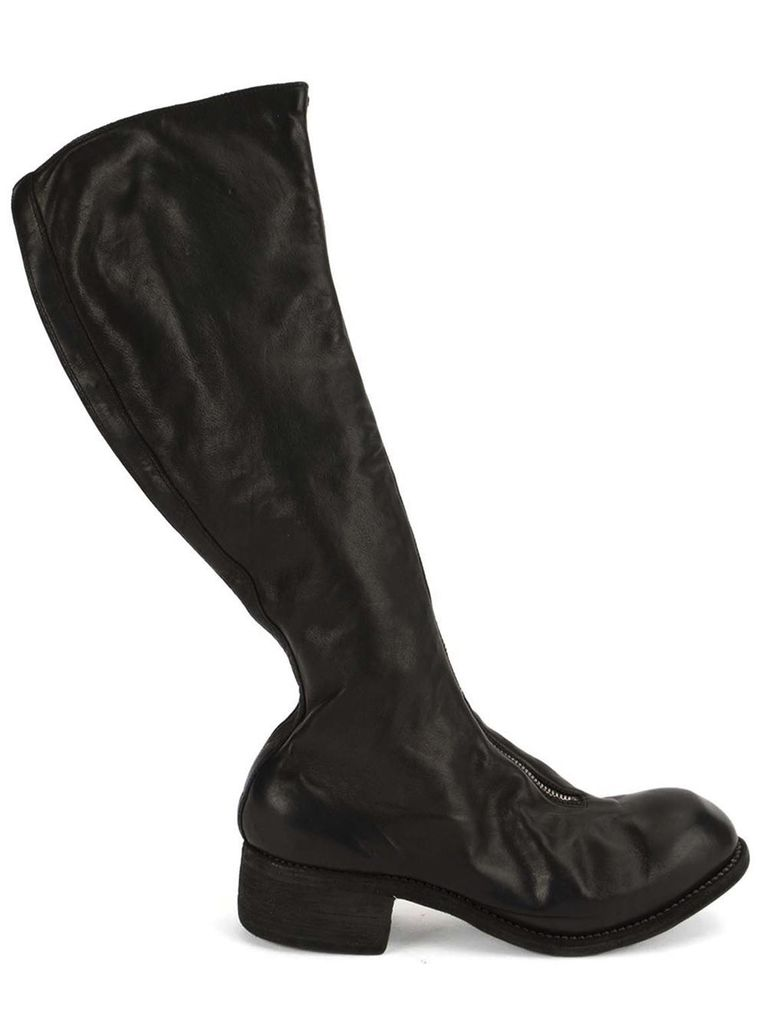 GUIDI GUIDI PL3 FRONT ZIP TALL BOOT