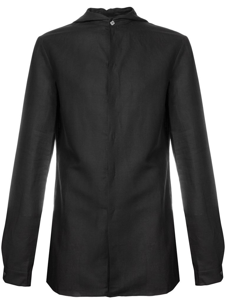 MA+ MA+ MEN HOODED FITTED SHIRT