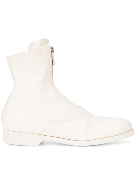 GUIDI GUIDI WOMEN FRONT ZIP MILITARY BOOT