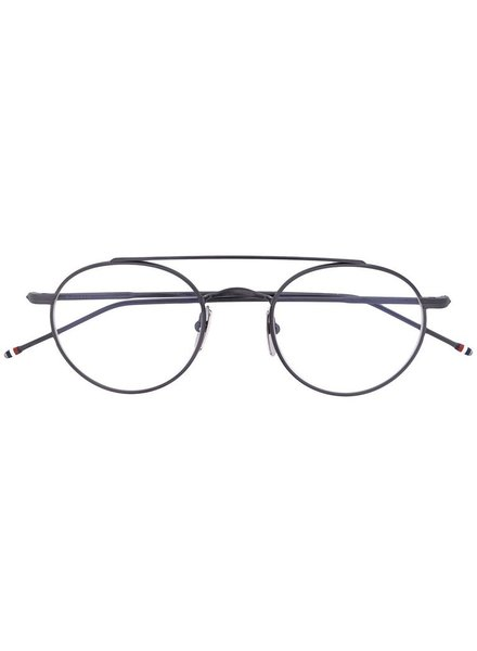 THOM BROWNE THOM BROWNE DITA EYEWEAR TB-101 BLACK IRON WITH CLEAR AR