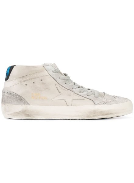 GOLDEN GOOSE GOLDEN GOOSE SNEAKERS MID STAR COL A1