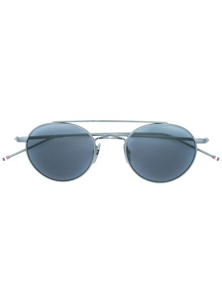 THOM BROWNE THOM BROWNE DITA EYEWEAR TB-101 BLACK IRON WITH DARK GREY AR