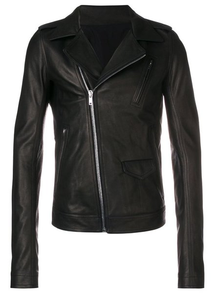 RICK OWENS RICK OWENS MEN STOOGES LEATHER JACKET
