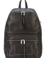 RICK OWENS RICK OWENS LEATHER BACKPACK