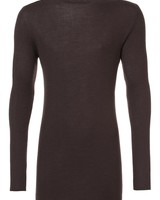 RICK OWENS RICK OWENS MEN RIBBED ROUND NECK SWEATER