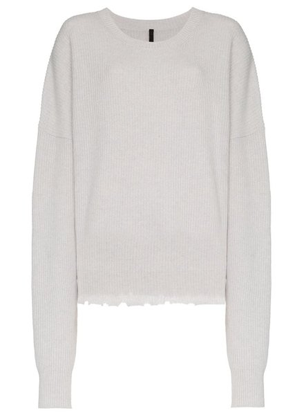 UNRAVEL PROJECT UNRAVEL WOMEN RIB OVERSIZE CHOPPED CREW