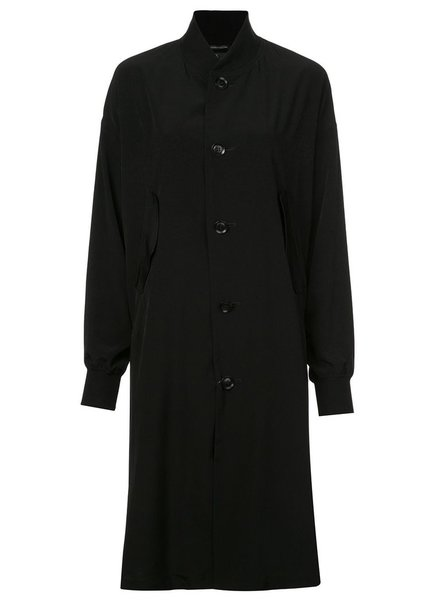 Y'S Y'S WOMEN LONG BLOUSON COAT