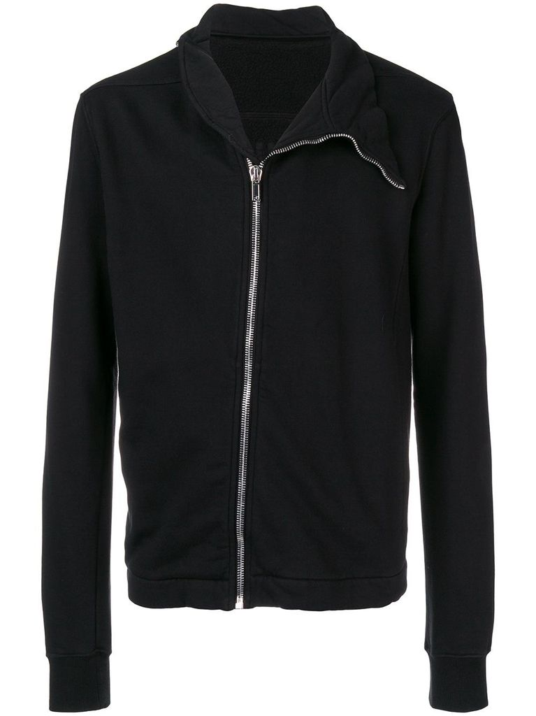 RICK OWENS DRKSHDW DRKSHDW MEN MOLLINO ZIP UP SWEATSHIRT