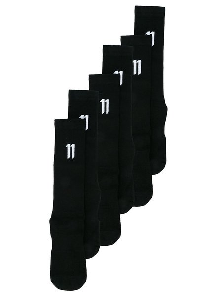 11 BY BORIS BIDJAN SABERI 11 BY BORIS BIDJAN SABERI MEN LOGO SOCKS 3 PACK