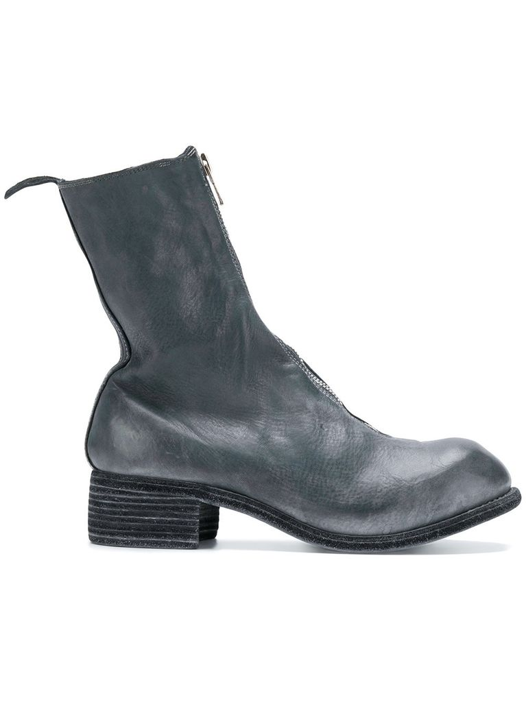 GUIDI GUIDI WOMEN PL2 WOMEN SOFT HORSE LEATHER FRONT ZIP BOOT