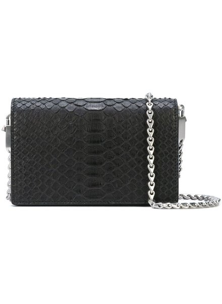RICK OWENS RICK OWENS WOMEN LUNCH BAG IN PYTHON LEATHER